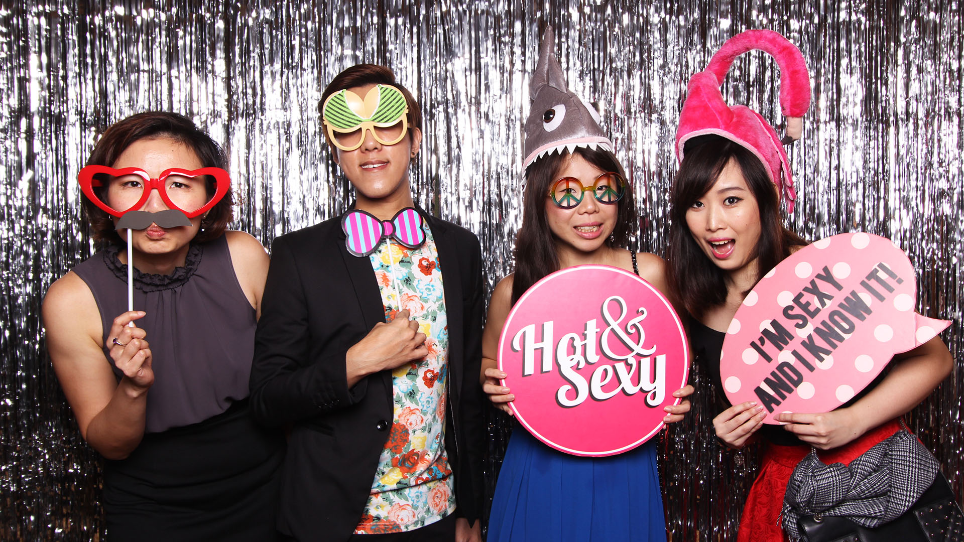 Fourstops • Singapore Photobooth • Dennis & Samantha Wedding Photobooth
