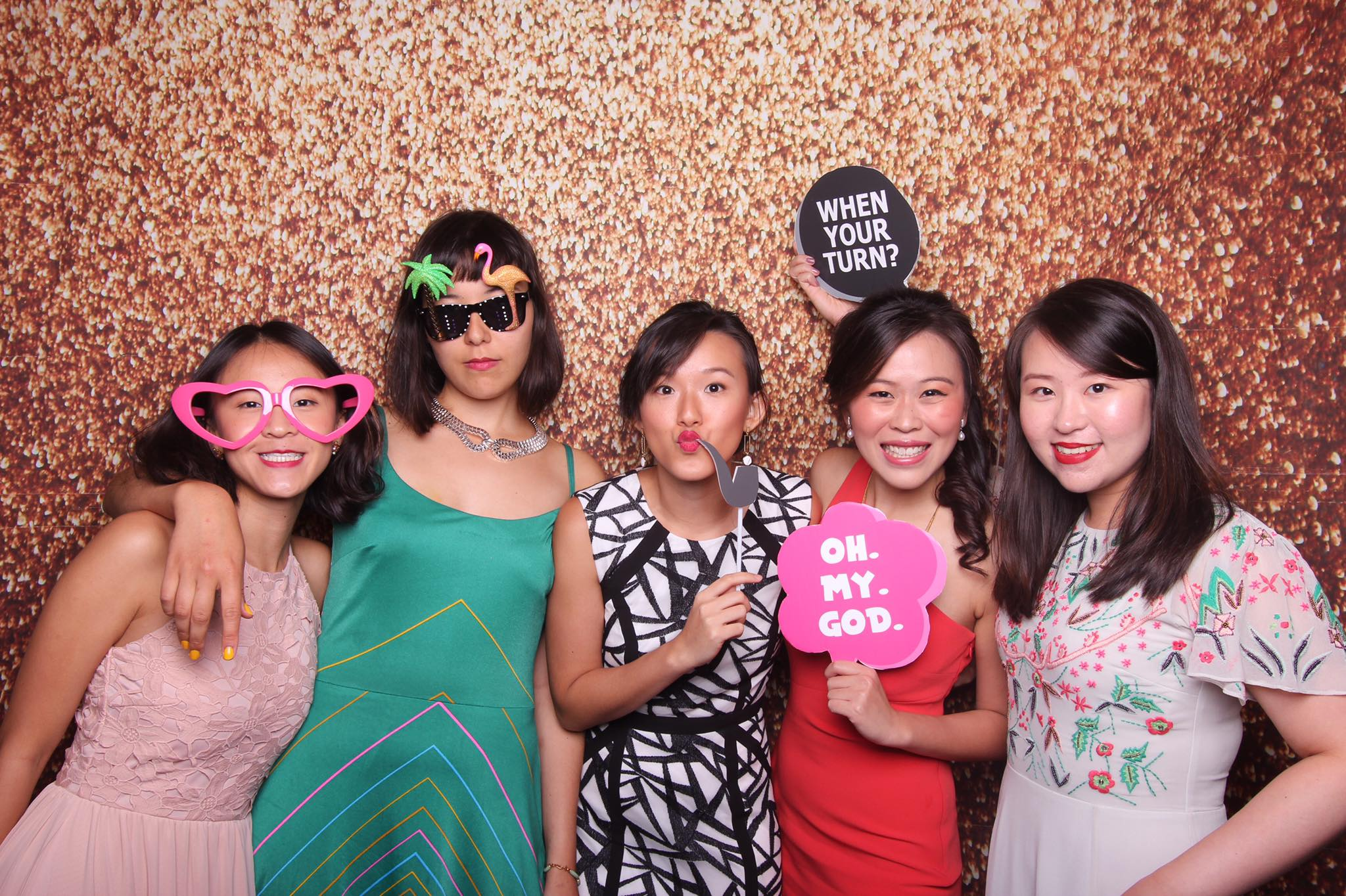 Good friends are like stars - Fourstops Photography · Singapore Photobooth