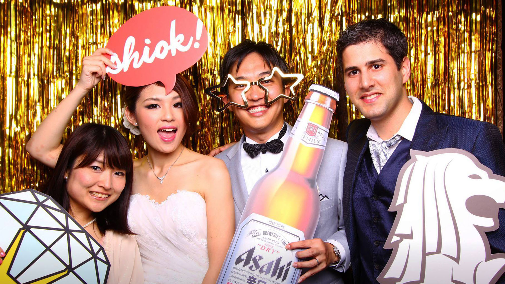 Fourstops • Singapore Photobooth • Gavin & Saeko Wedding Photobooth