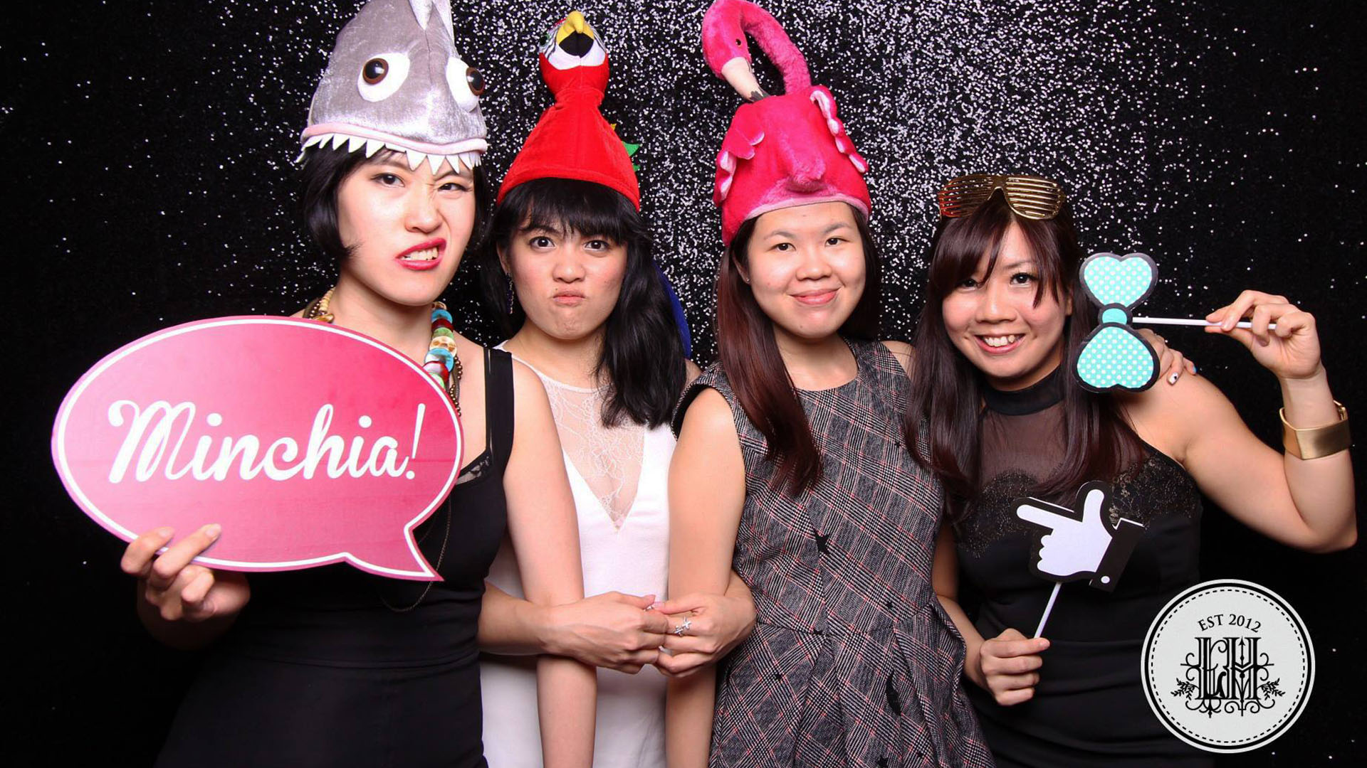Fourstops • Singapore Photobooth • Luca & Hui Wedding Photobooth