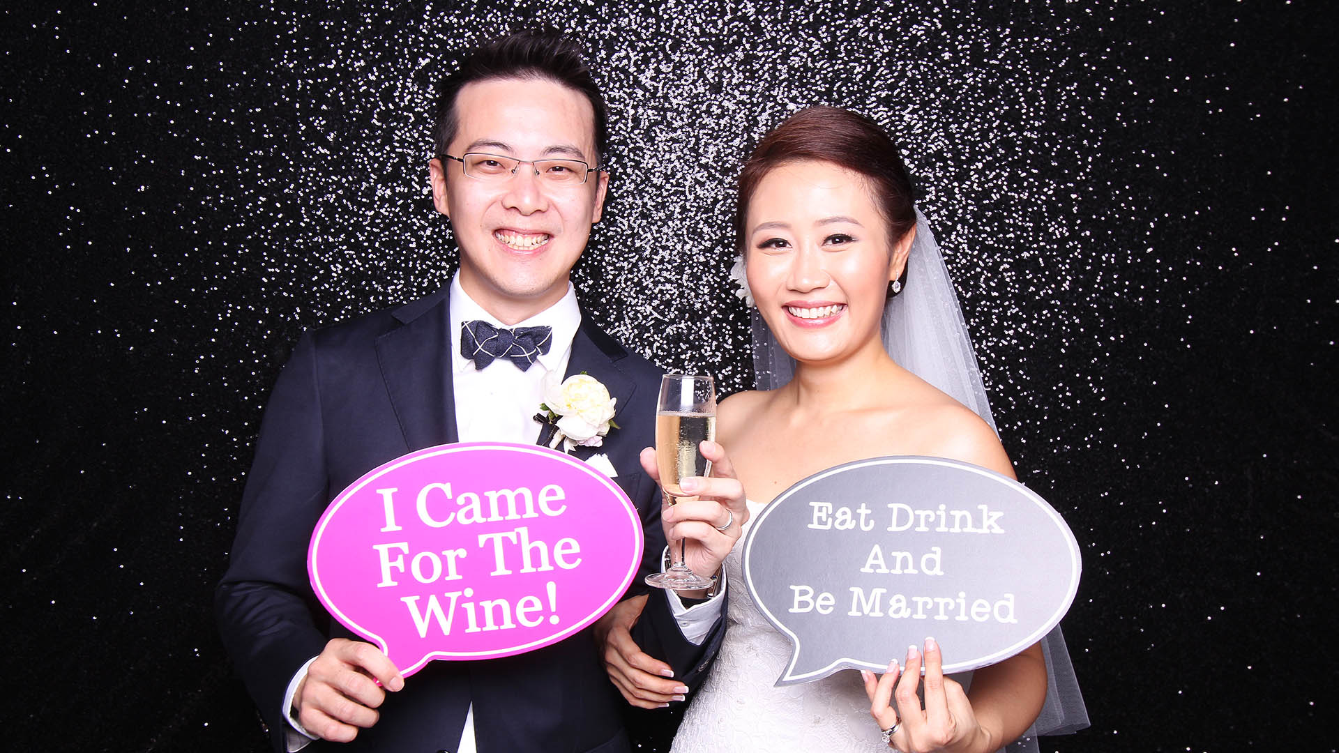 Fourstops • Singapore Photobooth • Paul & Kelly Wedding 2015 Cover