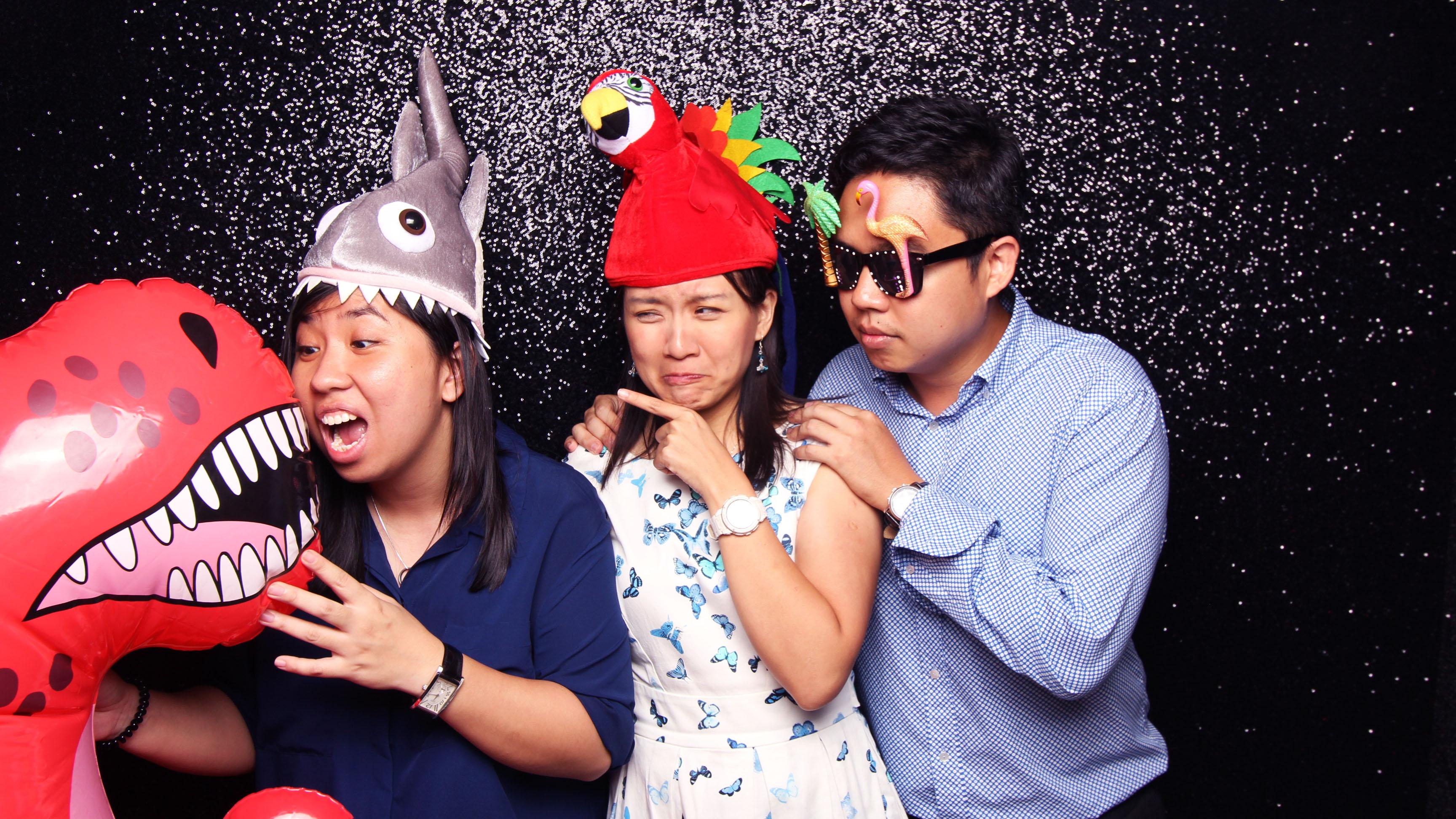 Fourstops • Singapore Photobooth • Then Yee & Justine Wedding Photobooth