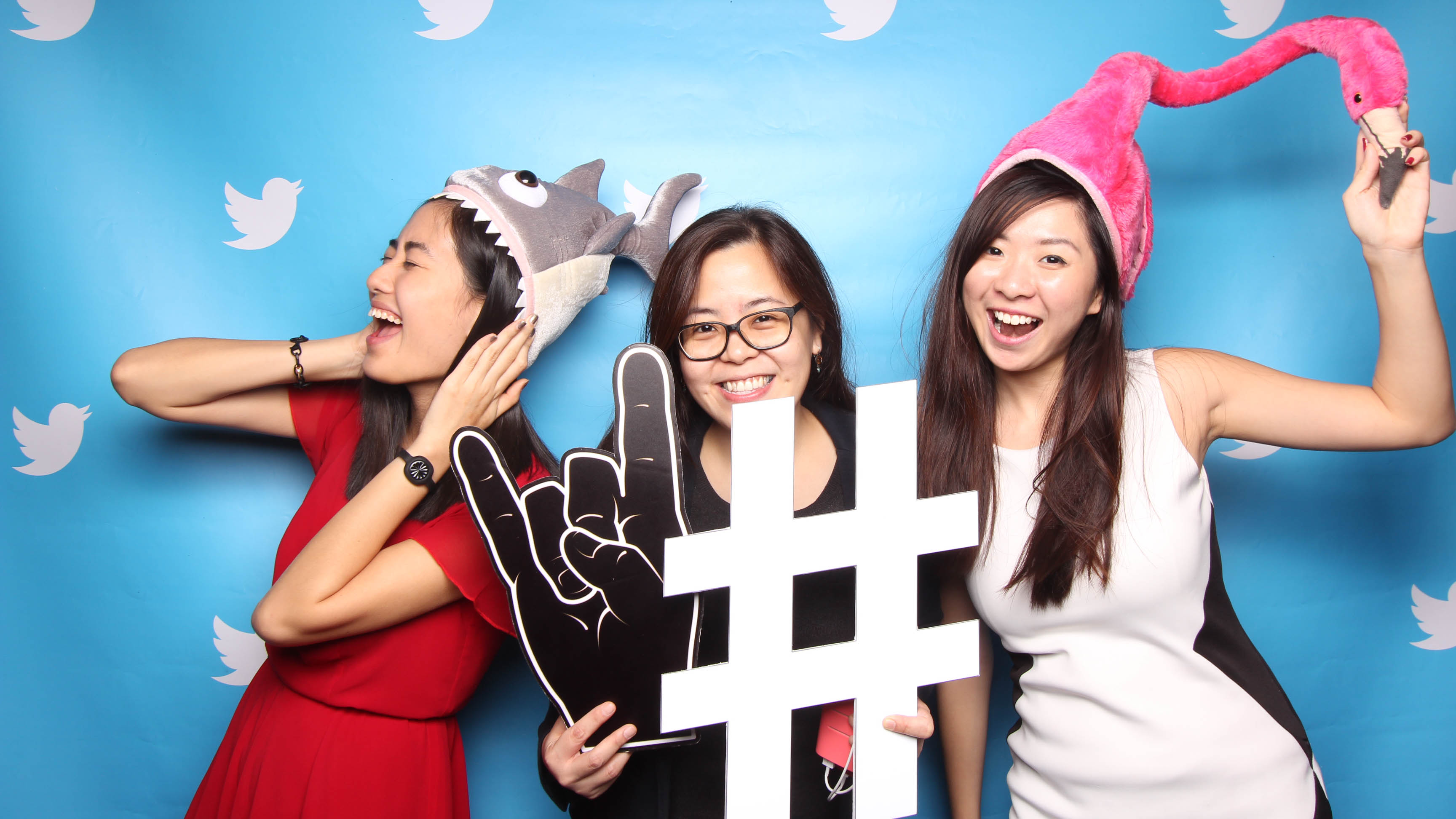 Fourstops • Singapore Photobooth • Twitter Singapore Home4Good Corporate Photobooth