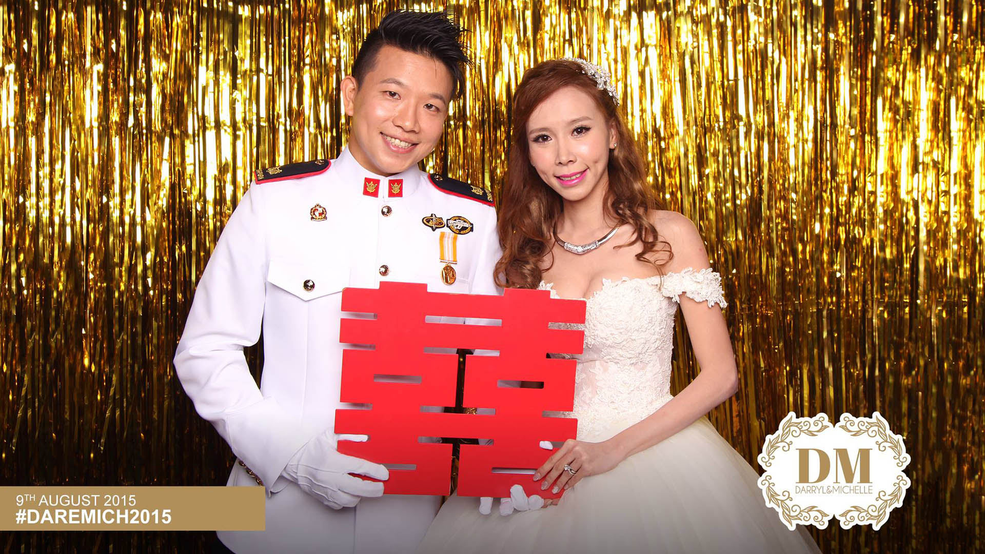 Fourstops • Singapore Photobooth • Darryl & Michelle Wedding Photobooth 2015 Cover