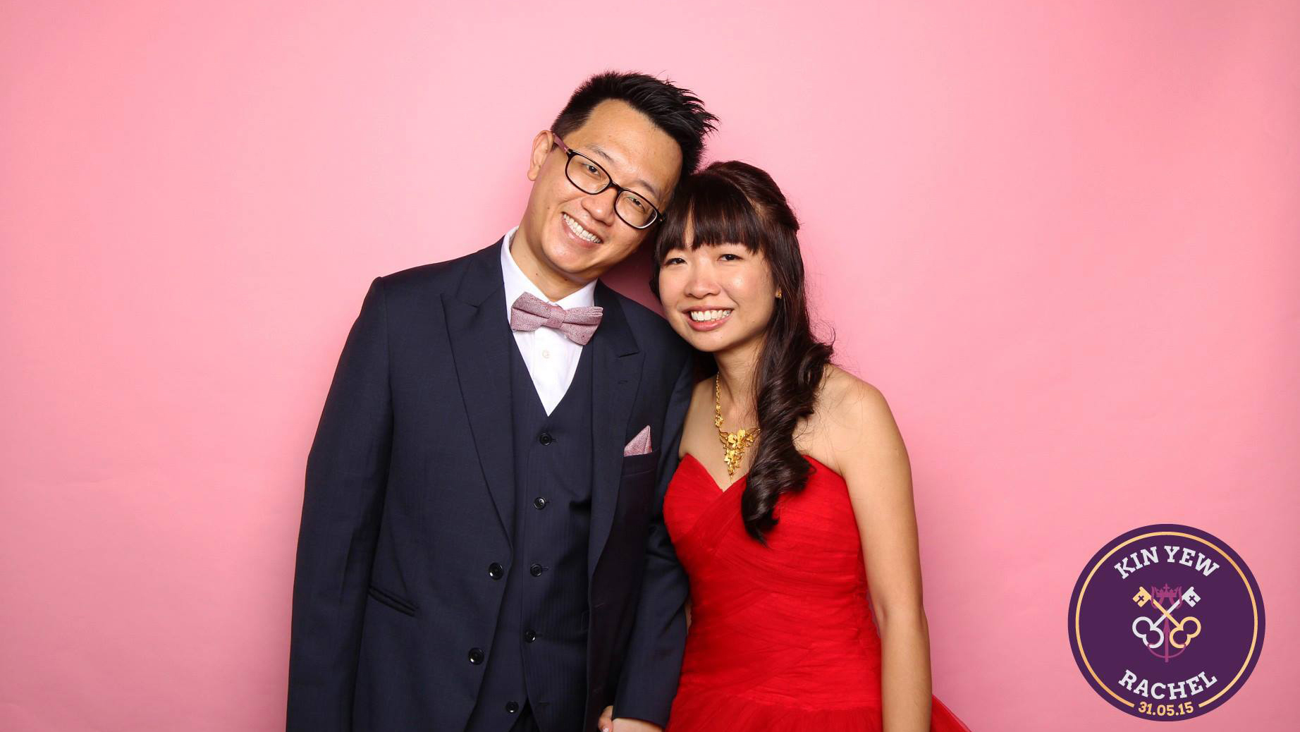 Fourstops • Singapore Photobooth • Kin Yew & Rachel Wedding 2015 Cover