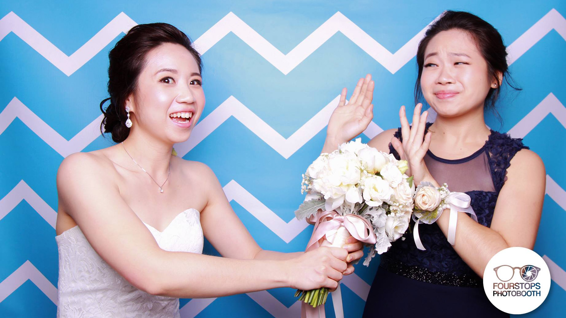 Fourstops • Singapore Photobooth • Yi Chieh & Michelle Wedding 2015 Cover