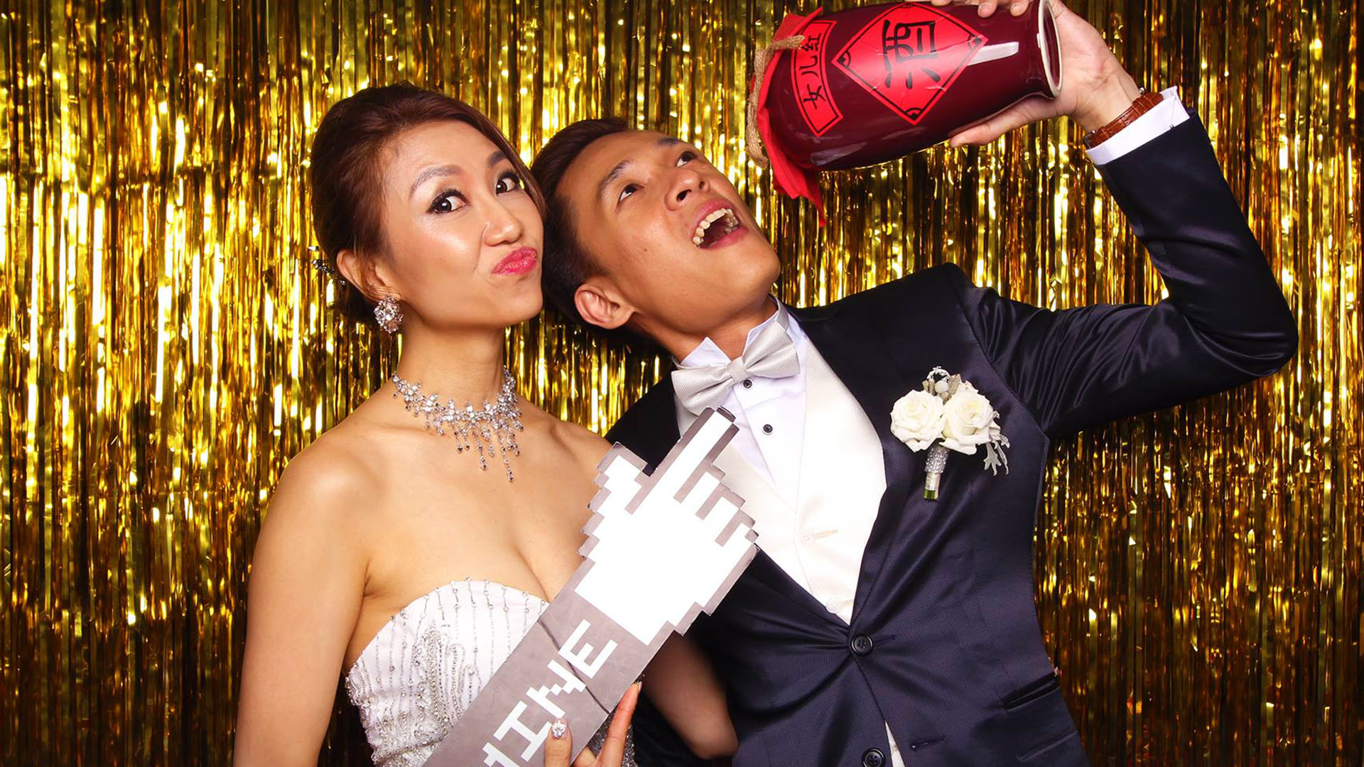 Fourstops Photography • Singapore Photobooth • Jason & Evon Wedding Photobooth Cover